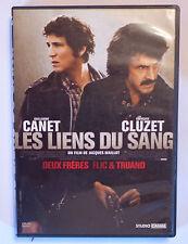 DVD / LES LIENS DU SANG - FRANCOIS CLUZET , CANET FILM DE JACQUES MAILLOT