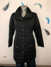 Guess Long down Jacket Black Filled Duvet Goose SIZE S Mint