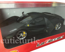 Hot wheels Ferrari LaFerrari 2014 New Enzo 1:18 Diecast Model BLY53 Matte Black