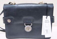 Versace LBFS361 Women Black leather Satchel