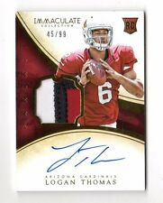 LOGAN THOMAS NFL 2014 IMMACULATE COLLECTION (JSY,AUTO,RC) #/99 (CARDINALS,BILLS