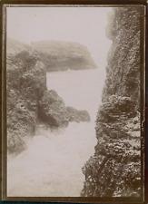 France, Vue des rochers, ca.1900, Vintage citrate print Vintage citrate print