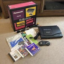 3DO REAL Panasonic FZ-10 Console & Games Bundle - Japan JPN - Tested & Working