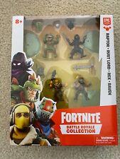 Fortnite Battle Royale Collection Squad Pack-Raptor Rust Lord Rex Raven Nib