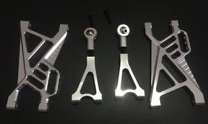 CNC metal rear suspension arm set for ROVAN KING MOTOR HPI baja 5B 5T SS