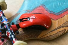Modded 61.2g Gloss Red Logitech G Pro Wireless in Skoll shell Kailh Gaming Mouse