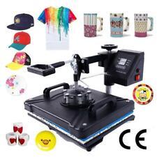 Heat Press Machine 5in1 Digital Transfer Sublimation Diy T Shirt Mug Hat Plate
