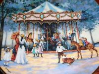 Franklin Mint Limited Edition Collectors Plate CAROUSEL MEMORIES