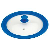 Universal Lid For Pots And Pans, Vented Tempered Glass - Graduated