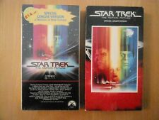 Star Trek , 10 movies, + 3 episode VHS tapes, mix of new and used