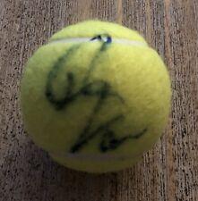 Anna Kournikova Signed Autographed Wilson US Open Tennis Ball