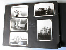 1930-40S FAMILY PHOTO ALBUM OF CARS, DOGS, VACATIONS,   MORE