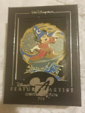 Fantasia Sorcerer LE 750 Featured Artist Disney Pin Mickey as the Apprentice