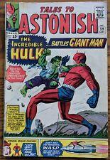 TALES TO ASTONISH #59 ***THE HULK vs GIANT MAN***  Marvel 1964 Good/Very Good