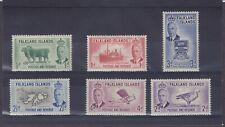Falklands Island KGVI SG 172/177 Mounted Mint