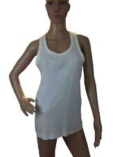UZEM Mens Tank Top Sleeveless Cotton Slim Fit Body Fit Sports Breathable   M