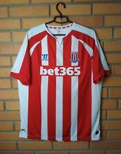 Stoke Home football shirt 2014 - 2015 size XL soccer jersey Warrior