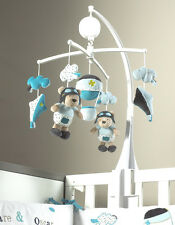 Sauthon mobile musical sauthon thème lazare pour lit bébé 60x120 cm neuf