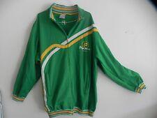 PEPE JEANS LONDON UK Men's 2XL Full Zip Green Fleece Jacket - LQQK