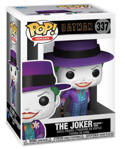 Batman 1989 The Joker with Hat Pop! Vinyl Figure #337