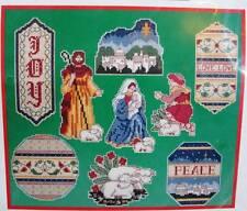 Dimensions Renaissance Christmas Ornaments Cross Stitch Kit 8425 Baby Jesus Mary