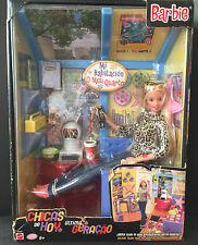 Muñeca Barbie mi cuarto Set 2000 generación chica las paredes y muebles 28986 caja española