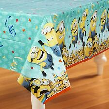 Despicable Me 2 Minions Large Table Cover Birthday Party Supplies Decor