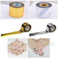 1 Roll Holographic Nail Art Transfer Foil Sticker Tape Manicure Decor 4cm*120m