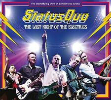 STATUS QUO LAST NIGHT OF THE ELECTRICS LIVE AT THE 02 2 CD (Released 14/07/17)