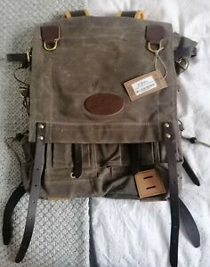 Frost River Isle Royale Junior Bushcraft Pack, Waxed Canvas (new with tags)!!