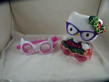 TY Ms Kitty w/ Eyeglasses Plush Sunglasses Swim Goggles Beanie Babies Collection