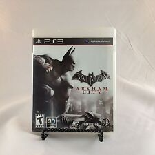 Batman Arkham City PS3 (Sony PlayStation 3) WB Bat Man