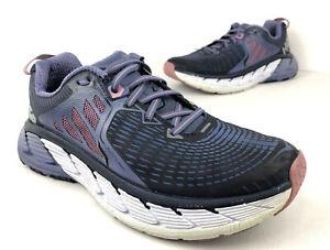 Hoka One One Gaviota Women's Running Shoes Purple Blue Size 10 US Trail Gym
