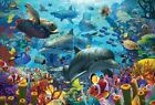 NEW! Cobble Hill Puzzles Coral Sea by David Penfound 2000 piece jigsaw