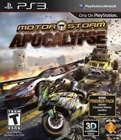 PS3 MotorStorm Apocalypse Video Game Playstation NTSC T422
