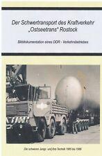 """Der Schwertransport  des VEB Kraftverkehr """"Ostseetrans"""" Rostock"""
