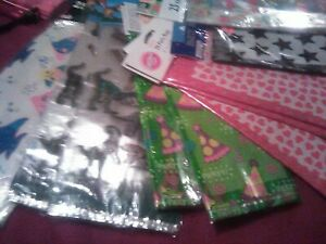 Cellophane Clear & Themed Loot Candy Bags