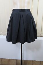Cue Above Knee Striped Regular Size Skirts for Women