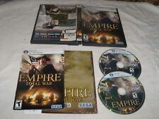 Empire Total War Replacement disks - no key