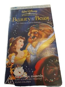 Special Edition Rare Beauty and the Beast VHS