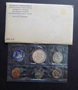 1965 UNITED STATES MINT SET UNCIRCULATED SPECIAL MINT SET