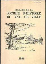 Annuaire de la société d'histoire du Val de Villé 9-1984. 1870/Thanvillé/Steige