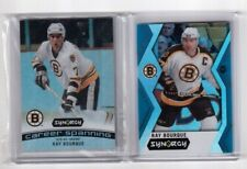 2017-18 Upper Deck Synergy Blue Parallel and CS-4 Ray Bourque Boston Bruins