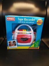 Playskool Tape Player Recorder Dual Microphones NEW Vintage Karaoke