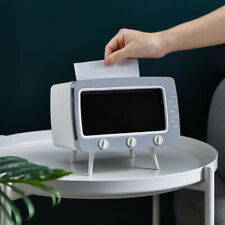 TV tissue box holder rack With mobile phone stand desktop napkin container