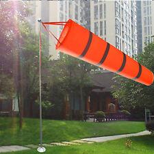 80CM Outdoor Aviation Windsock Airport Wind Sock Bag Measurement Reflective Belt