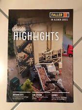 Faller, H0, DIN A4, Saison Highlights, 16 S., neu, ungelesen