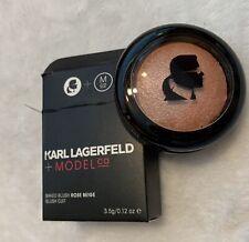 Karl Lagerfeld + Model Co Baked Blush Rose Beige, .12oz/ 3.5g, New in Box