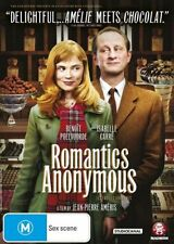 Romantics Anonymous (2012) GENUINE R4 DVD RARE FRENCH COMEDY MOVIE NEW & SEALED
