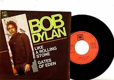 BOB DYLAN EP PS Like A Rolling Stone SPAIN NICE CONDITION CBS 6107 rare Spanish